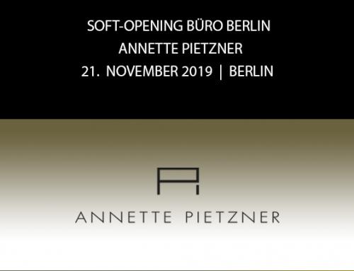 Save the Date: Soft Opening Büro Berlin